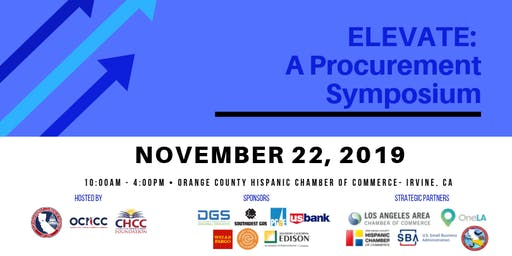 ELEVATE Procurement Symposium - Orange County, CA