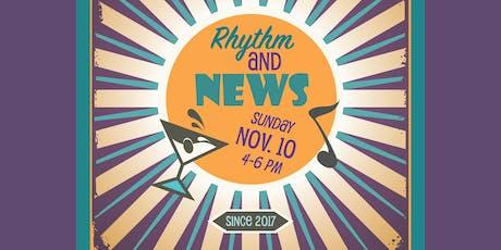 Rhythm and News tickets