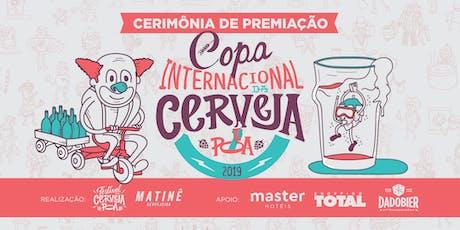 Festa de Premiação CICPOA 2019 ingressos