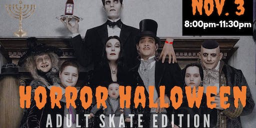 Horror Halloween - Adult Costume Contest & Skate Party