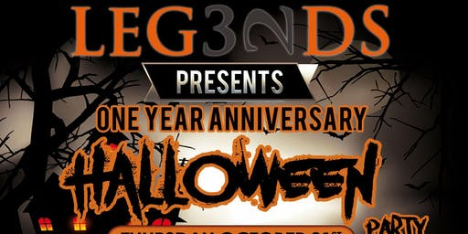 Legends Halloween / One Year Anniversary Party