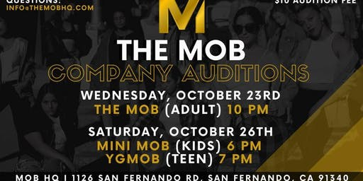 The MOB Dance Company Auditions