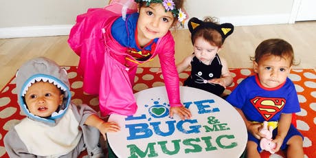 Halloween Sing-A-Longs With LoveBug &  Me Music - Voted Best Of LA tickets