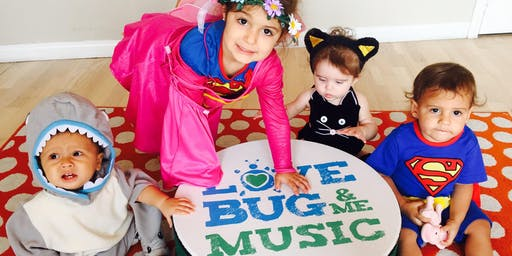 Halloween Sing-A-Longs With LoveBug &  Me Music - Voted Best Of LA