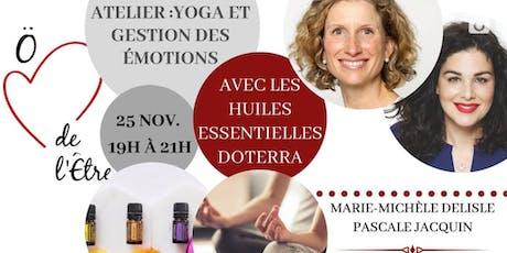 Atelier yoga et gestion des émotions tickets