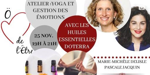 Atelier yoga et gestion des émotions