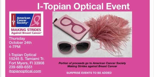 I-Topian Optical & American Cancer Society Event