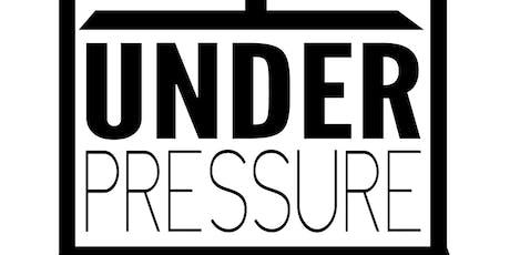 Under Pressure (Teen Cafe: 13-18) tickets