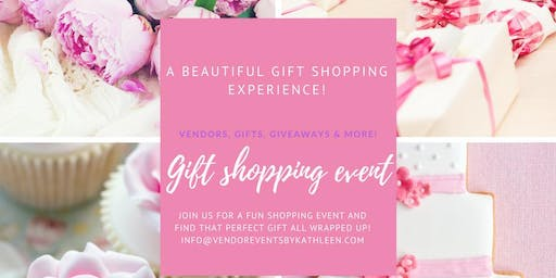 Calling All Business Owners - Vendors Register Now For Gift Shopping Event!