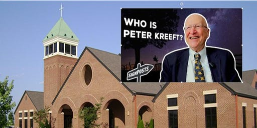 An Afternoon with Dr. Peter Kreeft