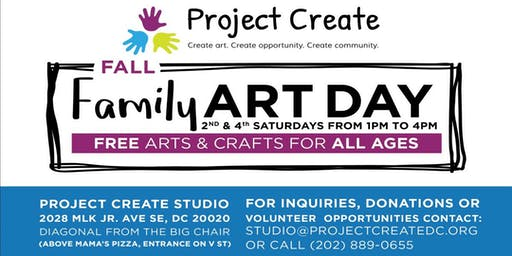 Project Create Family Art Day 2019