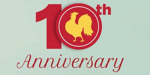 Bistro Niko's 10 Year Anniversary