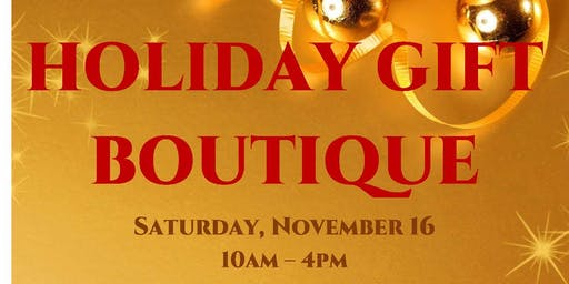 HOLIDAY BOUTIQUE!