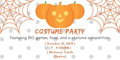 Bespoke Youth Presents: Costume Party!