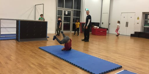 LONDON PARKOUR PROJECT - YOUTH PARKOUR AT TNG
