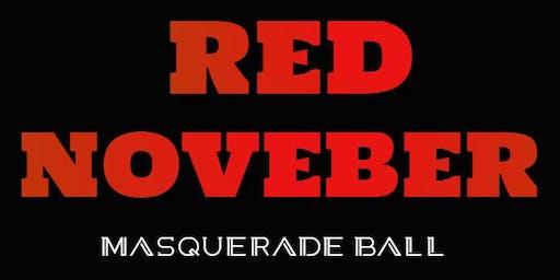 RED NOVEMBER MASQUERADE BALL