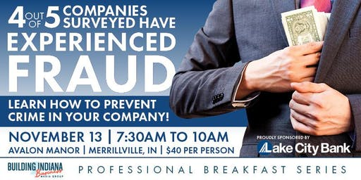 Professional Breakfast Series: How to Prevent Fraud