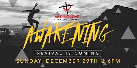 "ALCC's Revival - ""Awakening"" tickets"