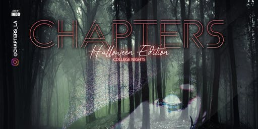 Chapters College Nights Halloween Edition