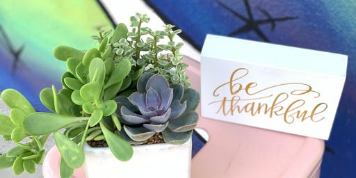Plantsgiving Gift Arrangement Class