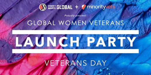 Global Women Veterans Launch Party