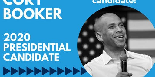 Cory Booker - 2020 Presidential Candidate in Marion County