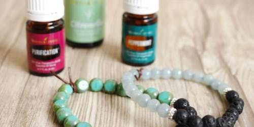 Essential Oil Infused Tea and Bracelets
