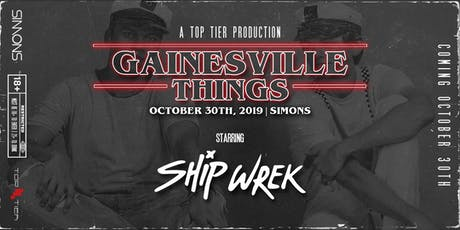 Gainesville Things—A Gainesville Halloween Ft. SHIP WREK|Oct 30th @ Simons!