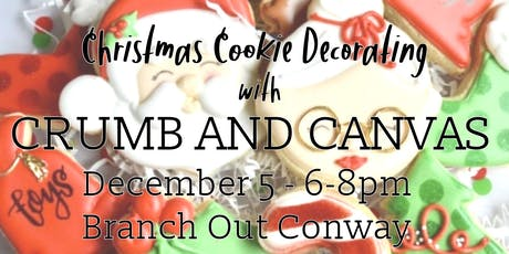 Christmas Cookie Decorating with Crumb and Canvas tickets