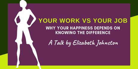 Work VS Job: What's the Difference? tickets