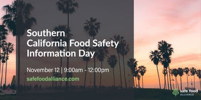 Southern California Food Safety Information Day