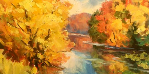 Landscape Painting Workshop /Lucy Manley Saturday November 23,  9:30-4:00