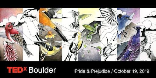 TEDxBoulder: Pride & Prejudice
