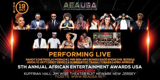 5th Annual African Entertainment Awards, USA