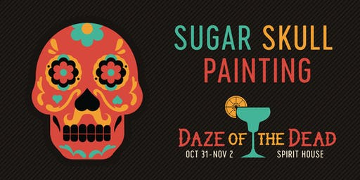 Sugar Skull Painting - Daze of the Dead