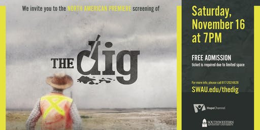The Dig (North America Premiere Screening and Q&A)