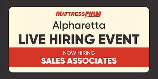 Alpharetta - On-the-Spot Interviews