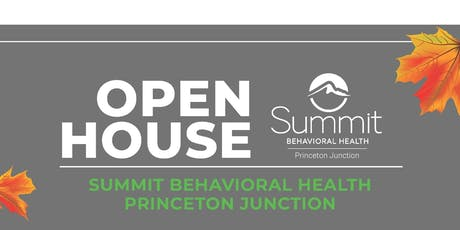 Summit Behavioral Health Princeton Junction Open House tickets
