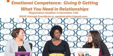 Emotional Competence Workshop tickets