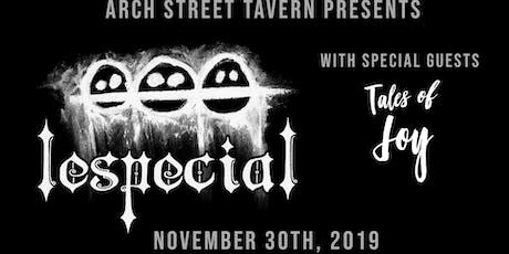 Lespecial with Tales of Joy tickets