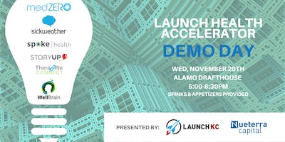 Launch Health Accelerator's Demo Day powered by Nueterra Capital