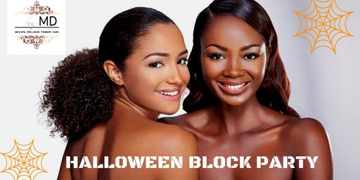Scare away wrinkles with our Halloween Block Party
