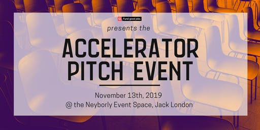 ICA Accelerator Pitch Event