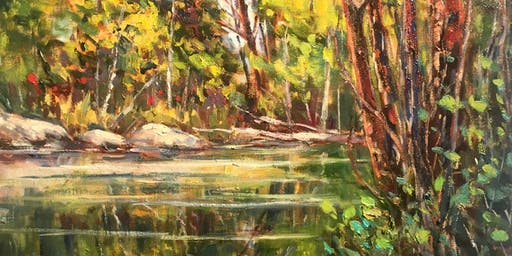 Landscape Painting Workshop/Lucy Manley  Oil or Acrylic Oct. 26  Saturday