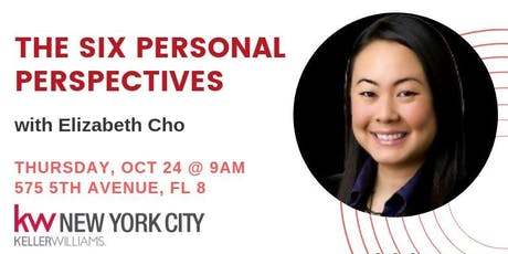 The Six Personal Perspectives with Elizabeth Cho tickets