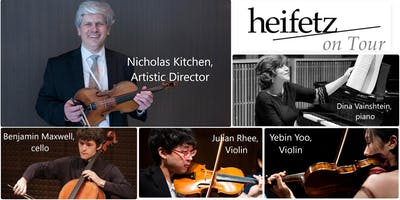 Heifetz On Tour @ St. Stephen's Episcopal Church, Durham, NC
