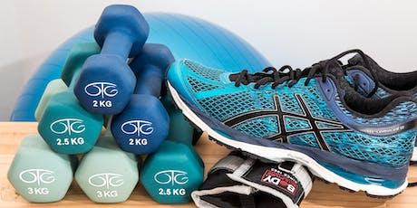 Mobilisation, cardio et renforcement musculaire adapté à la Clinique du Sport - 10€ billets