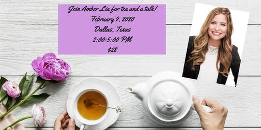 Tea and Talk With Author Amber Lia!