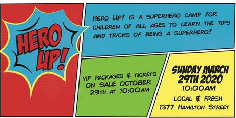 Hero Up! tickets