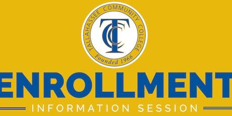 TCC Enrollment Information Session tickets